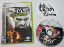 USED Splinter Cell Double Agent XBOX 360 (NTSC) Tested and Working!