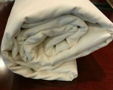 Cream Ivory KING Fitted Sheet Cotton 270TC Buff Beige The Company Store 401