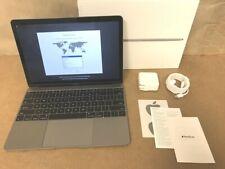 "⭐ Apple Macbook 12"" Core m3 1.2GHz Mid 2017 8GB Ram 256GB SSD ✅❤️️ Space Gray"