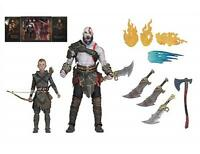"God of War (2018) Ultimate Kratos and Atreus 7"" Action Figures 2-Pack  12"