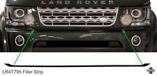 Front Bumper grille filler strip Gloss Black Discovery 4 facelift conversion 14