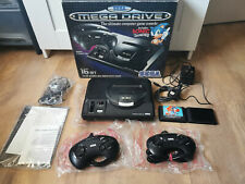 Sega Mega Drive Console - Boxed with Extras - Excellent Condition