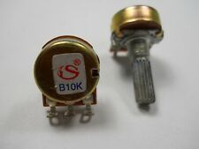 Potentiometers,10K ohm Solder, Mini Linear Rotary Single Turn (NOS)(QTY 5 ea)C2
