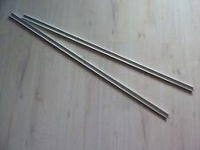 Hülsta Now1 2 x Aluschienen für Schiebe Rolltüre, 120 x 2,8 x 1 cm, sehr selten.