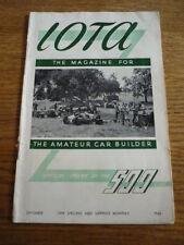 IOTA - THE MAGAZINE OF THE 500 RACING CLUB SEPT. 1948