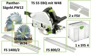 FESTOOL Tauchsäge TS 55 EBQ Angebotsset Handkreissäge Vom Fachhändler!