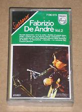FABRIZIO DE ANDRE' - VOL.2 - MUSICASSETTA MC