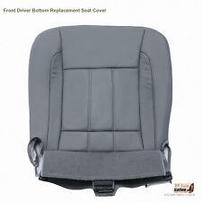 2008 Dodge Ram 1500 2500 3500 4500 Laramie Driver Bottom Leather Seat Cover Gray