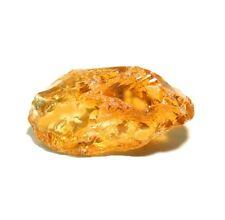 Beautiful, Orangy Apricot Citrine Gem Facet Rough 20k