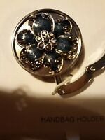Liz Claiborne Handbag Holder Blue Flower