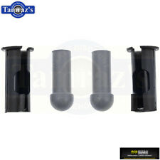 Gm 64-72 A 67-69 F 65-73 X Body Sun Visor Shaft Bushings & Rubber Tips Oer