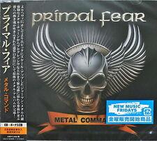 PRIMAL FEAR-METAL COMMAND-JAPAN 2 CD BONUS TRACK G88