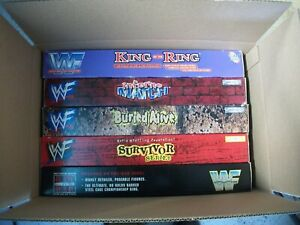 5 ea  WWF Monster Rings - Jakks  Playsets WWE  NEW