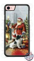 Vintage Christmas Santa Claus Phone Case Cover for iPhone 11 Pro Samsung LG etc