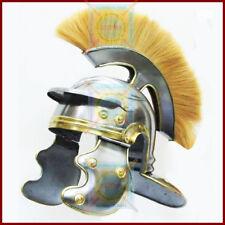 ROMAN CENTURION HELMET Medieval 300 Spartan Costume Helmet Vikings Armor Plume