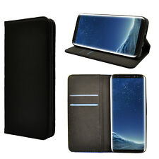 iDefend Samsung Galaxy S8 Leather Magnetic Wallet Case Cover + Screen Protector