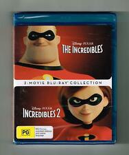2 Movie Blu Ray Collection Disney Pixar The Incredibles Never Been Opened