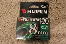 NEW SEALED FujiFilm P6-120 8mm high quality video cassette