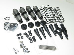 TLR04010 LOSI TLR 8IGHT-X ELITE BUGGY FRONT AND REAR SHOCKS