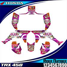 honda trx 450 2006 07 08 09 10... 2014 decals graphics stickers trx450r trx 450r