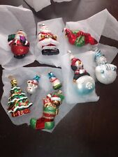 Vintage christopher radko christmas ornaments