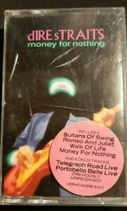 Dire Straits - Money for Nothing (1988) Cassette tape. Good used condition