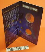 CARTERA FNMT 2007 monedas 12 euros PLATA + 2 EUROS 50 Aniversario Tratado Roma