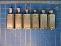 Moteur MABUCHI FF-050-SK-11170 + au choix pignon 7 à 14 dents ou vis sans fin HO