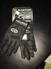 Easton Typhoon Youth Large Batting Gloves Black New