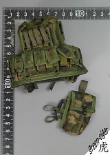 A215 1:6 Scale ace Military action figure parts - Woodland AWS TRAUMA vest