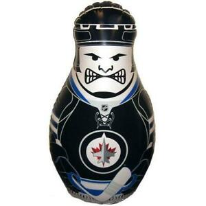 Winnipeg Jets NHL Inflatable Checking Buddy Punching Bop Bag