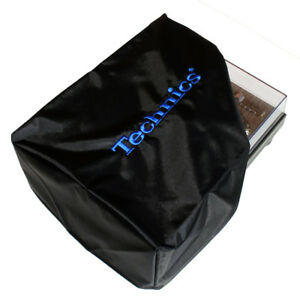 Technics Turntable Cover - Protect Your Deck (black/blue) Official Merchandise