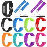 Silicone Band Strap Bracelet Wrist Band For Garmin Vivosmart HR+ Plus Replace