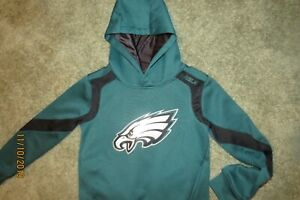 PHILADELPHIA EAGLES NFL TEAM YOUTH SMALL SIZE 8 HOODIE SWEATSHIRT NEW LQQK!