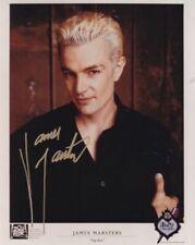 Buffy Angel James Marsters Spike # 3 hand signed