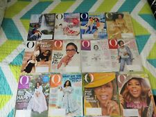 O the Oprah Magazine Lot of 12 Issues (Nov 2017-Oct 2018)