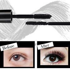 2Pcs/set 3D Makeup Mascara Fiber Black Long Volume Curly Mascara For Eye Makeup