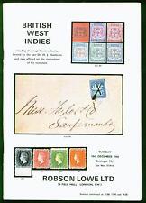 British West Indies, Heathcote Collection, Jamaica, San Vicente Subasta Catálogo