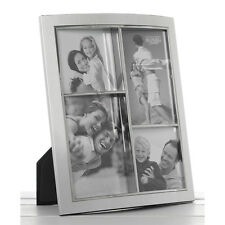 Multi Silver Photo Frame Holds 4 Photos  NEW  18093