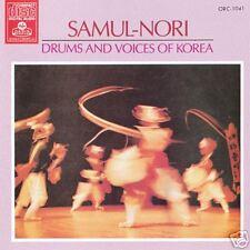 Musique du Monde Asie Rythme Folklorique Corée Collection Samul-Nori Tambour