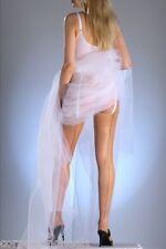 Designer Contrast Seam & Cuban Heel Glossy Stockings
