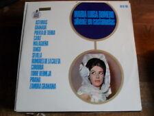 """MARIA LUISA ROMERO  """" ALBENIZ EN CASTANUELAS """"  LP VINILE"""