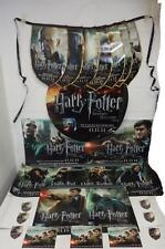Harry Potter Deathly Hallows Pt. 2 Memorabilia Bundle, Stickers, Posters, Flags