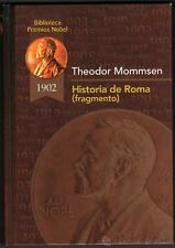HISTORIA DE ROMA (FRAGMENTO) - THEODOR MOMMSEN