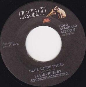 "ELVIS PRESLEY - Blue Suede Shoes / Tutti Frutti 7"" 45"