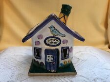 Blue Sky Grandmas Cottage 2001Tea Light Holder Heather Goldminc With Base Plate