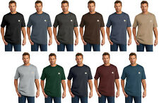 Carhartt Workwear Pocket Short Sleeve T-Shirt K87 Heavyweight Jersey Knit Tee