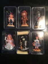 Set of 6 Effanbee WIZARD OF OZ Doll Christmas Tree Ornaments Series 1999 NIB