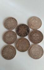 France - Lot 7 x 5 francs argent ( Louis Philippe I , Napoleon III , Hercule )