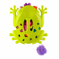 Boon Frog Pod - Bath Toy Scoop, Drain and Storage